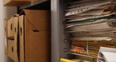 Hrant Dink Vakfı Kütüphanesi arşiv bölümü