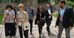 Journalists from Turkey attended Aurora Prize Ceremony