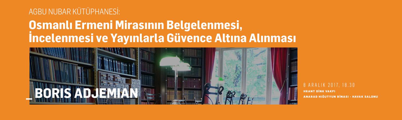 Dr. Boris Adjemian AGBU Nubar Kütüphanesi tarihini anlatıyor