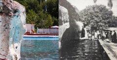 Surp Krikor (Keşiş'in havuzu) suyu. Geçmişte olduğu gibi bugün de Develililer yüzmeyi burada öğreniyor.