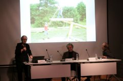 Curating Memory Panel was organized at the Havak Hall on October 28th