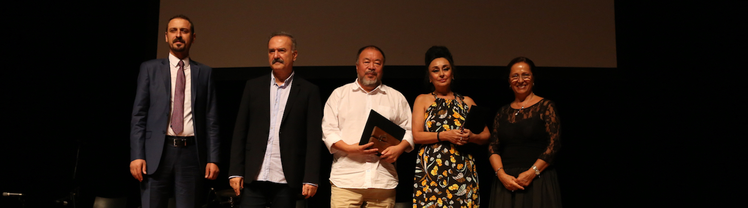 The 2017 International Hrant Dink Award goes to Eren Keskin from Turkey and Ai Weiwei from China